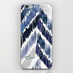 Tropical Vibrations Indigo iPhone & iPod Skin