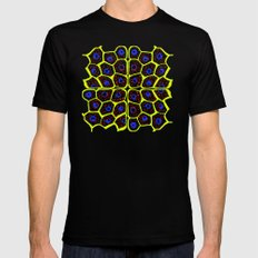 Animal Cells Mens Fitted Tee SMALL Black