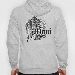Maui Poly Tribal Distressed Hoody