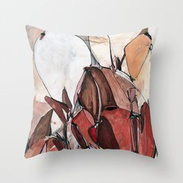 Red Harvest Throw Pillow