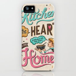 The Heart Of The Home iPhone Case