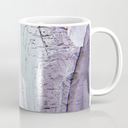 Slipping Away: an abstract mixed-media piece in black and white by Alyssa Hamilton Art Coffee Mug