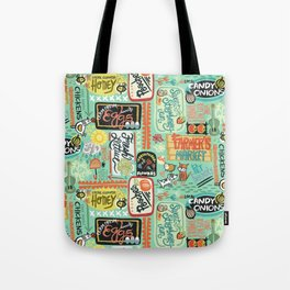 Farmer's Market Fun Tote Bag