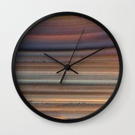 Back Lit Agate Wall Clock