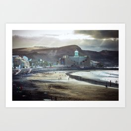 Las Palmas Art Print