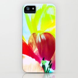 Abstract Of Tulips iPhone Case