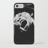tom waits iPhone & iPod Cases featuring Tom Waits by Furry Turtle Creations