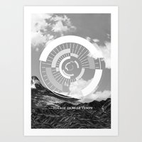 Voyage Dans Le Temps Art Print