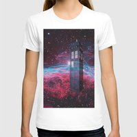 dr who T-shirts featuring Dr Who police box  by store2u