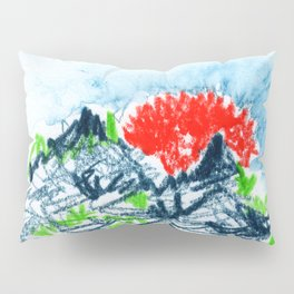 here comes the sun I Pillow Sham
