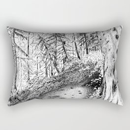 On the Trail Rectangular Pillow