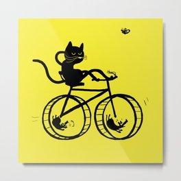 Slaved mouses Metal Print