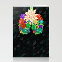 lungs Stationery Cards featuring lungs by Taylor {GANGST★R}