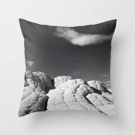 The Brain Rocks Throw Pillow
