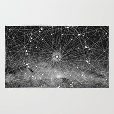 STARGAZING IS LIKE TIME TRAVEL Rug