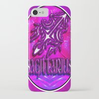 astrology iPhone & iPod Cases featuring Sagittarius Zodiac Sign Astrology by CAP Artwork & Design