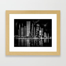Steel City Framed Art Print