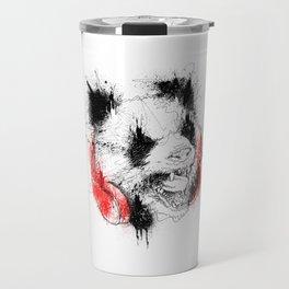 Panda Roar Scratch Travel Mug