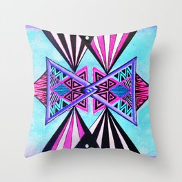 new dimension Throw Pillow