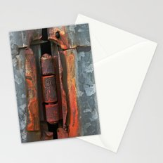Hinge and Rust Wave Stationery Cards