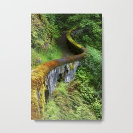 Shepperds Dell. Metal Print