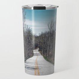 Lonely road in Georgia Travel Mug
