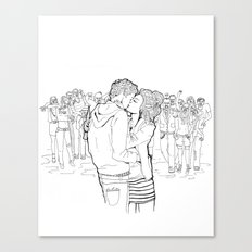 US AND THEM Canvas Print