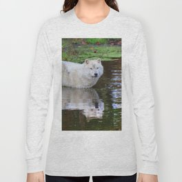Wolf Reflection Long Sleeve T-shirt