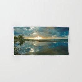 Brilliant Sunset on Lake Superior II Hand & Bath Towel