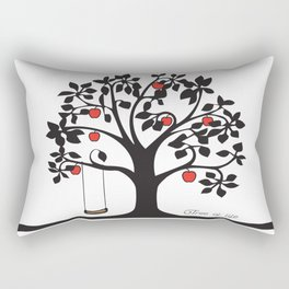 Tree of Life Collection Rectangular Pillow