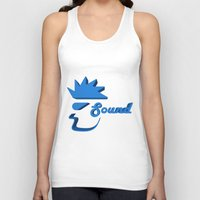 sound Tank Tops featuring Sound by Zeep Design