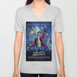 The Greatest Showman Poster Unisex V-Neck