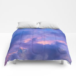 Dusk Clouds Comforters