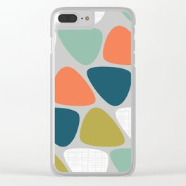 MCM Lozenge Clear iPhone Case