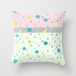 SELENE - NEAPOLITON CONFETTI CAKE Throw Pillow
