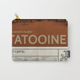 The Desert Planet of Tatooine Carry-All Pouch