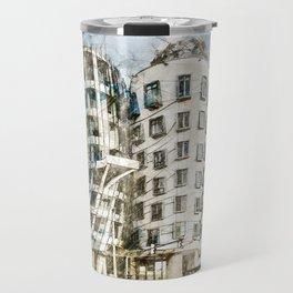 Dancing House, Prague Travel Mug