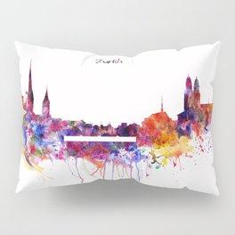 Zurich Skyline Pillow Sham