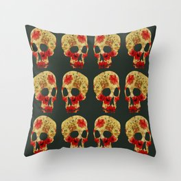 are you dead? Throw Pillow