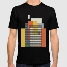 architecture and morality Black LARGE Mens Fitted Tee