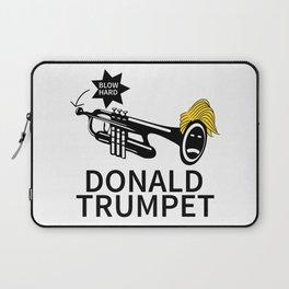 Donald Trump Trumpet Laptop Sleeve