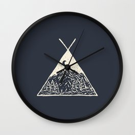 feel the outdoors Wall Clock