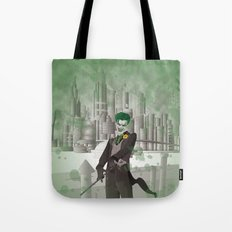 Madman's Grin Tote Bag