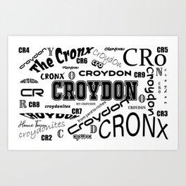 Croydon Wordsworth Art Print
