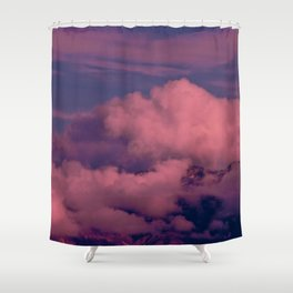 Winter Storm Clouds Shower Curtain