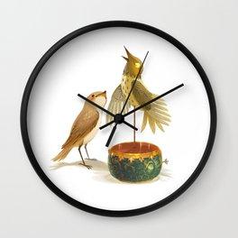 The Nightingale Wall Clock