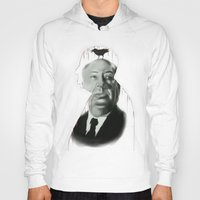 hitchcock Hoodies featuring Hitchcock by FlacoGarcia
