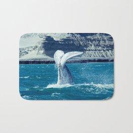Whale calf tail - Argentina Bath Mat
