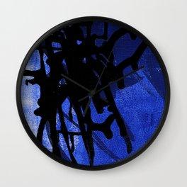 Blue Ink Lyrics Wall Clock