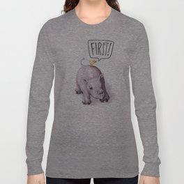 FIRST! Long Sleeve T-shirt